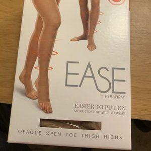 Therafirmk Ease Sand Thigh High Stockings SL NIB